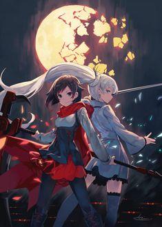 "Tagged with wallpaper, anime; RWBY (Fixed Some ""Mature Content"") Re-post:) Fanart Rwby, Fanart Manga, Rwby Anime, Manga Anime, Anime Art, Akira, Rwby White Rose, Desu Desu, Manga Kawaii"