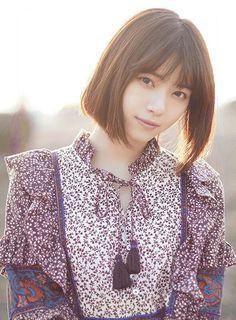 Beautiful Person, Beautiful Asian Girls, Japanese Beauty, Asian Beauty, Japan Girl, Girl Poses, Cute Girls, Portrait Photography, Short Hair Styles