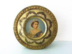 A collectable Vintage metal tin box canister Queen Elizabeth the Queen's Royal coronation 1953 by on Etsy Vintage Tins, Vintage Metal, Young Queen Elizabeth, Queen's Coronation, Tin Boxes, Metal Tins, Magpie, Cottage Chic, Canisters