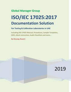 This publication has been designed to provide information about how Global Manager Group provides ISO/IEC Documentation solution for testing or calibration laboratories in UAE that want to implement ISO/IEC standard Measurement Uncertainty, Microsoft Excel Formulas, Joseph, Management, Pdf, Templates, Business, Stencils, Store
