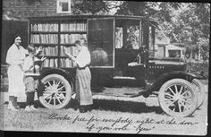Check out this old bookmobile! | DCDL