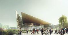 Suzhou Industrial Park Sports Center, NBBJ (Suzhou, China)