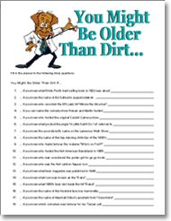 Birthday Party Games Ideas And Tips On Adult 50th