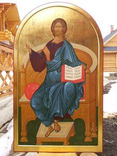 Александр Деркачёв – Alexandru Derkaciiov – icoana Byzantine Icons, Byzantine Art, Orthodox Icons, Color Pallets, Fresco, Christianity, Painting, Parents, Idea Paint