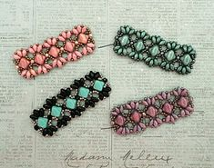 Playing with my beads...Mini Bridges Bracelet samples | Linda's Crafty Inspirations | Bloglovin'