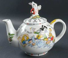 alice and wonderland teapots - Google Search