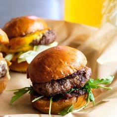 Sliders from @skilletstfood   Tag a friend who would love this & tag us in your #foodtruck photos or use #hirefoodtrucks to get featured!