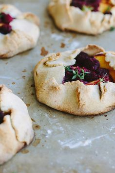 Gluten-free peach + raspberry crostata | My Darling Lemon Thyme