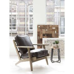 Fauteuil Pretoria 89x72x78 cm, Leather Brown