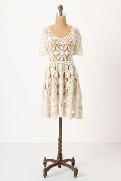 Pretty Crocheted dress