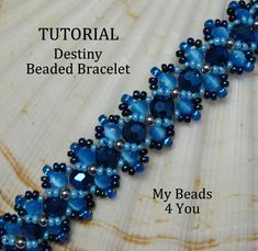 PDF Beading TutorialPDF Beaded Bracelet by mybeads4you on Etsy, instruction include design for the hugs and kisses bracelet