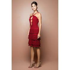 Strawberry Ohara Scarlet Crochet Dress - Vanessa M - vanessamontorolojausa