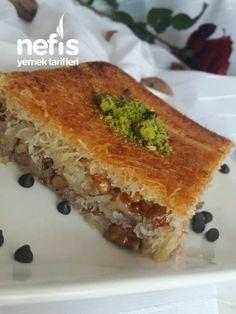 Çıtır Çıtır Tel Tel Cevizli Kadayıf Tatlısı - Nefis Yemek Tarifleri Dinner Recipes, Dessert Recipes, Desserts, Turkish Sweets, Iftar, Dessert For Dinner, Spanakopita, French Toast, Sandwiches