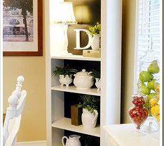 Easy DIY Home Decor Crafts: Kitchen Bookshelf