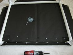 Build a Dog Cot for Around $10 : 15 Steps - Instructables Pvc Dog Bed, Raised Dog Beds, Dog Cots, Dog Kennels, Kids Cot, Elevated Dog Bed, Boxer And Baby, Dog Beds For Small Dogs, Large Dogs