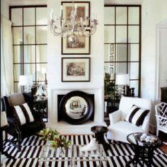 Fireplace/ rug