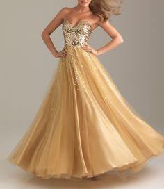 #dress #gold