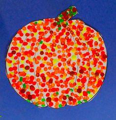 Pointillistic pumpkins