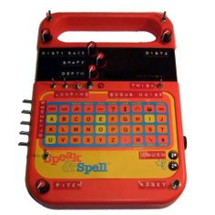 bogus noise CIRCUIT BENT Speak & Spell with LFO for Texas Instruments.