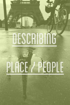 French vocab not learned at school: Describing People / Place (slang) - Talk in French