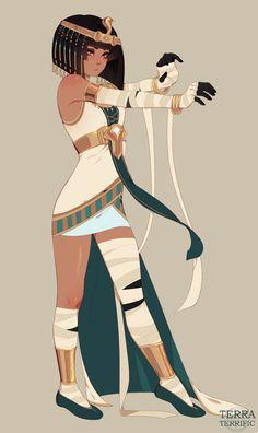 Character Design Girl, Character Design Animation, Character Design Inspiration, Character Concept, Character Art, Black Anime Characters, Girls Characters, Fantasy Characters, Anime Egyptian