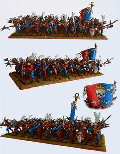 Empire state troops Altdorf halberdiers