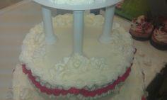 My first wedding cake 2014