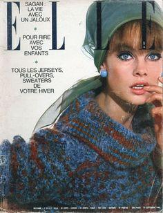 Elle de septembre 1963, Jean Schrimpton photographiée par David Bailey