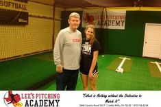 Lee's Pitching Academy Customer Review  Coach Lee with Southern Nazarene University signee Conally Webb before her Thursday lesson.  Conally has been one of Lee's Pitching Academy students and top Varsity Pitcher for Heritage Christian Academy Softball Program.   Conally Webb Commits To, https://deliverymaxx.com/DealerReviews.aspx?DealerCode=SQHI&ReviewId=55859  #Review #DeliveryMAXX #Lee'sPitchingAcademy