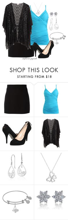 """Mira's Outfit for Her Mother's Viewing"" by stephanie-jozwiak ❤ liked on Polyvore featuring Givenchy, Wet Seal, Chinese Laundry, Blue Nile and SummerRose Jewelry"