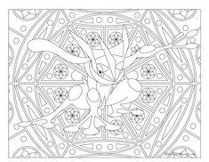 #658 Greninja Pokemon Coloring Page