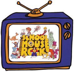 tv Schoolhouse Rock, Staging, Childhood Memories, Children, Kids, Homeschool, Entertaining, Teaching, Watch