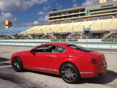 Bentley Continental GT Speed - red hot