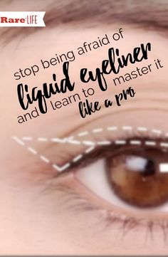 Get the PERFECT liquid eyeliner look! See our #makeup and #beautytips here!