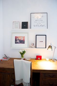 Wall art / Livin up a notch -blog Corner Desk, Gallery Wall, Wall Art, Frame, Room, Furniture, Home Decor, Corner Table, Picture Frame