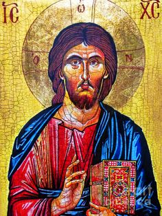 Christ The Pantocrator Icon  n Christian iconography, Christ Pantocrator refers to a specific depiction of Christ. Pantocrator or Pantokrator is, used in this context, a translation of one of many Names of God in Judaism.