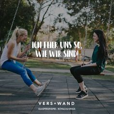 Ich feier uns so, wie wir sind! Glasperlenspiel - VISUAL STATEMENTS® Visual Statements®️️ I celebrate ourselves the way we are! Glass Bead Game Sayings / Quotes / Quotes / Verswand / Music / Band / Ar Short Positive Quotes, Short Quotes, Best Quotes, Life Quotes, True Friends, Best Friends, Friends Forever, Glass Bead Game, German Quotes