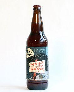 Deschutes Hop In The Dark Beer Bottle