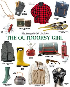 The Everygirl's 2014 Holiday Gift Guide for The Outdoorsy Girl #theeverygirl
