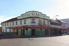 Carlton Hotel, Maryborough, Qld. Carlton Hotel, Old Pub, Sunshine State, Rest Of The World, Old Houses, Cheers, Cities, Nostalgia, Hotels