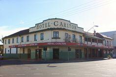 Carlton Hotel, Maryborough, Qld.