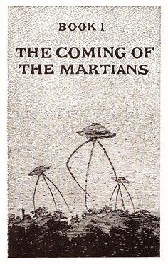 【アート】H・G・ウエルズとエドワード・ゴーリーの奇跡のコラボ、SF挿絵「宇宙戦争」が魅力的 : 付録部 blog-bu