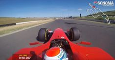 Watch A 2004 Ferrari Car Bag The Unofficial Lap Record At Sonoma: Marc Gene can be seen flying around Sonoma… Marc Gene, Ferrari F1, Automotive News, Racing, Cars, Watch, Autos, Clock, Auto Racing