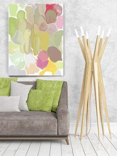 Abstract Paintings Art, Wall Decor, Extra Large Abstract Colorful Contemporary Canvas Art Print up to by Irena Orlov Acrylic Painting Canvas, Canvas Art Prints, Painting Prints, Abstract Wall Art, Abstract Paintings, Large Artwork, Your Paintings, Home Art, Wall Art Decor