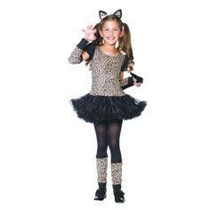 Little Leopard Girls Halloween Costume