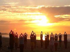 Trabajar en las mañanas con la energía del sol te hace brillante desde el corazón hacia afuera !!!   Amor + sabiduría = verdad