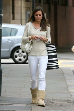 May 11, 2007: Kate Middleton shopping in Chelsea, London.