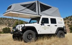JEEP JK Habitat - American Expedition Vehicles See more about Jeep Jk, Jeeps and Habitats. Jeep Jk, Jeep Rubicon, Jeep Truck, Jeep Wrangler Unlimited, Jeep Camping, 4x4 Trucks, Tenda Jeep, American Expedition Vehicles, Expedition Truck