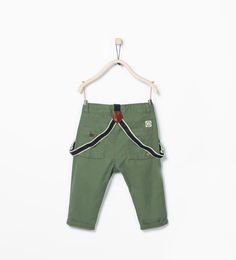 ZARA - KIDS - Trousers with seamed suspenders