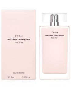 narciso rodriguez for her l'eau eau de toilette fragrance collection from Macy's on shop.CatalogSpree.com, your personal digital mall.